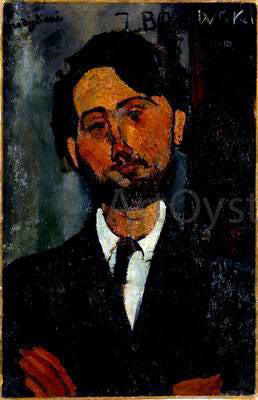 Amedeo Modigliani Portrait of Zborowski - Hand Painted Oil Painting