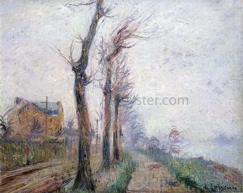 Gustave Loiseau Pothius Quay at the Oie River - Hand Painted Oil Painting