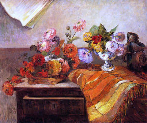 Paul Gauguin Pots and Bouquets - Hand Painted Oil Painting