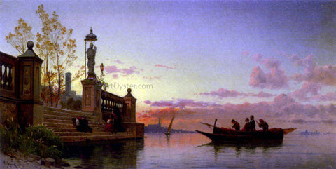 Hermann Solomon Corrodi Prayers At Dawn - Hand Painted Oil Painting