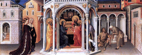 Gentile Da Fabriano Presentation of Christ in the Temple - Hand Painted Oil Painting