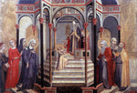 Sano Di Pietro Presentation of the Virgin at the Temple - Hand Painted Oil Painting