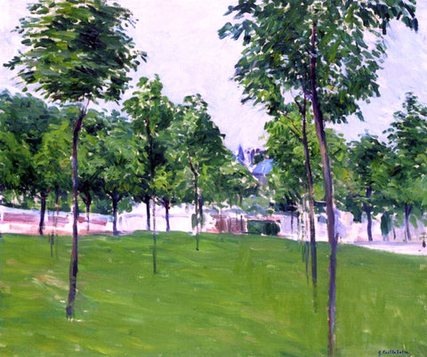 Gustave Caillebotte Promenade at Argenteuil - Hand Painted Oil Painting