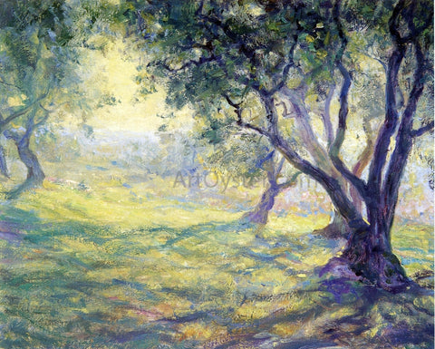 Guy Orlando Rose Provincial Olive Grove - Hand Painted Oil Painting