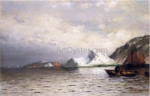 William Bradford Pulling in the Nets - Hand Painted Oil Painting