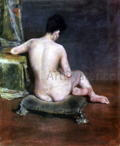 William Merritt Chase Pure (also known as The Model) - Hand Painted Oil Painting