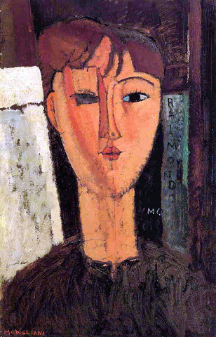 Amedeo Modigliani Raimondo - Hand Painted Oil Painting