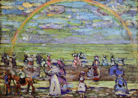Maurice Prendergast Rainbow - Hand Painted Oil Painting