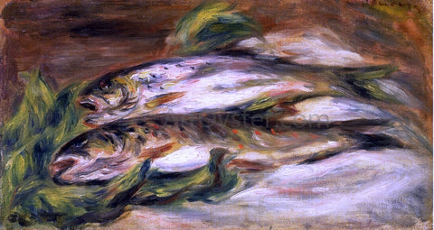 Pierre Auguste Renoir Rainbow Trout - Hand Painted Oil Painting