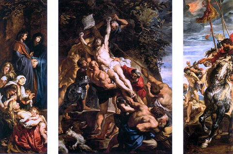 Peter Paul Rubens Raising of the Cross - Hand Painted Oil Painting