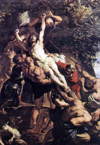 Peter Paul Rubens Raising of the Cross (detail) - Hand Painted Oil Painting
