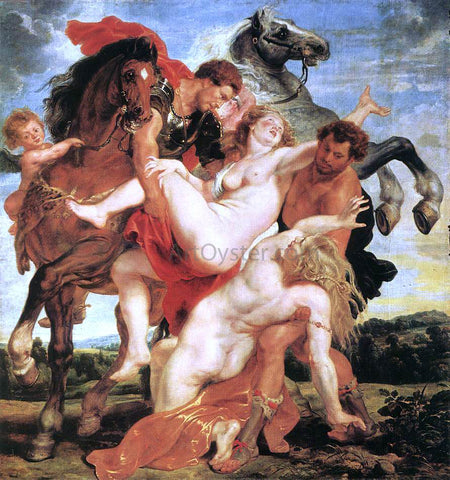 Peter Paul Rubens Rape of the Daughters of Leucippus - Hand Painted Oil Painting