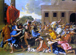 Nicolas Poussin Rape of the Sabine Women - Hand Painted Oil Painting