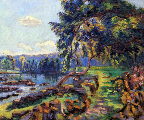 Armand Guillaumin Rapids at Genetin - Hand Painted Oil Painting