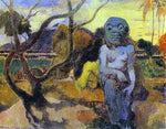 Paul Gauguin Rave te htit aamy (also known as The Idol) - Hand Painted Oil Painting