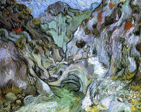 Vincent Van Gogh Ravine - Hand Painted Oil Painting