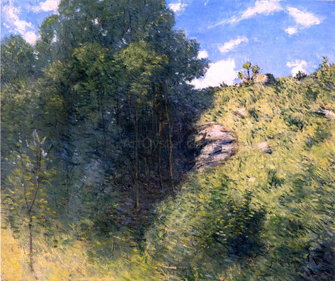 Julian Alden Weir Ravine near Branchville - Hand Painted Oil Painting