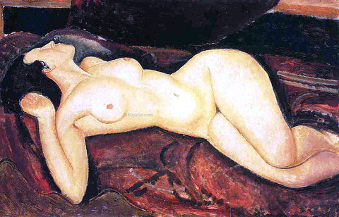 Amedeo Modigliani Recumbent Nude - Hand Painted Oil Painting