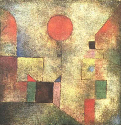 Paul Klee Red Balloon - Hand Painted Oil Painting