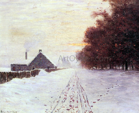 Lowell Birge Harrison Red Oaks - Hand Painted Oil Painting