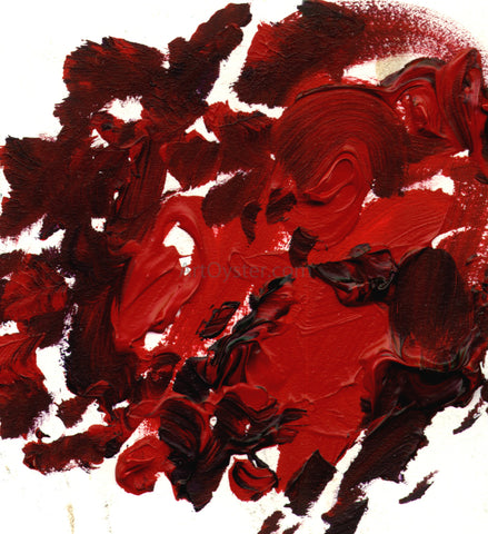 Our Original Collection Red Palette - Hand Painted Oil Painting