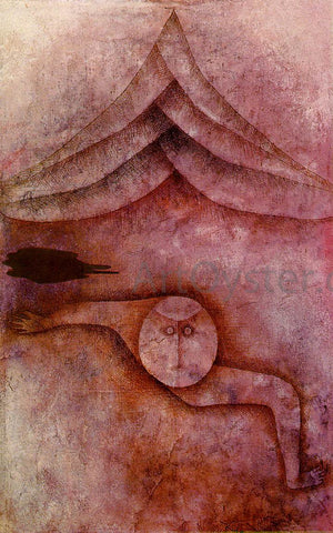 Paul Klee Refuge - Hand Painted Oil Painting