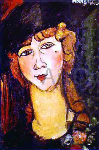 Amedeo Modigliani Renee the Blonde - Hand Painted Oil Painting