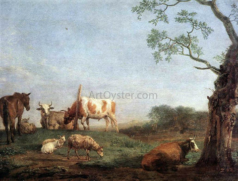 Paulus Potter Resting Herd - Hand Painted Oil Painting
