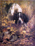 Edmond H Osthaus Retrieving - Hand Painted Oil Painting