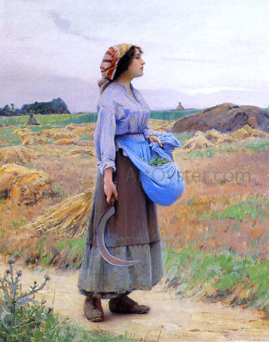 Charles Sprague Pearce Returning from the Fields - Hand Painted Oil Painting