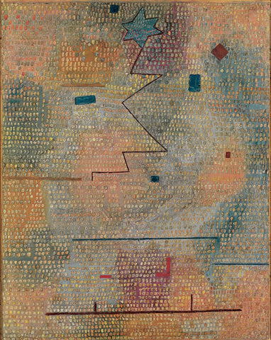 Paul Klee Rising Star - Hand Painted Oil Painting