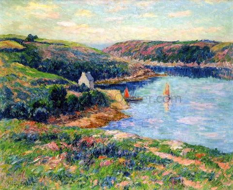 Henri Moret River in Belon - Hand Painted Oil Painting