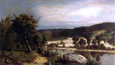 Alexander Helwig Wyant River Landscape - Hand Painted Oil Painting