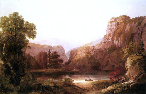 Russell Smith River Landscape - Hand Painted Oil Painting