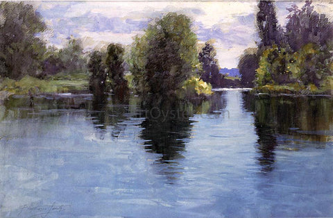 Francis Hopkinson Smith River View - Hand Painted Oil Painting