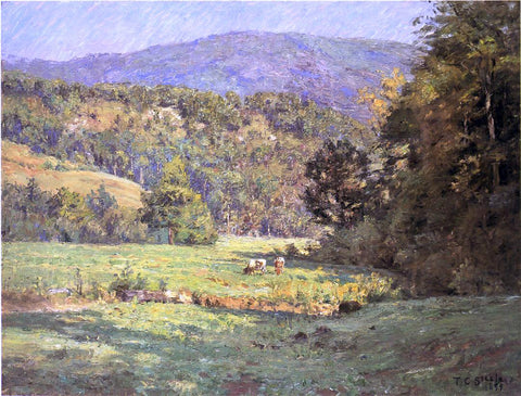 Theodore Clement Steele Roan Mountain - Hand Painted Oil Painting