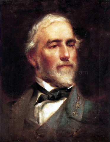 Edward Caledon Bruce Robert E. Lee - Hand Painted Oil Painting