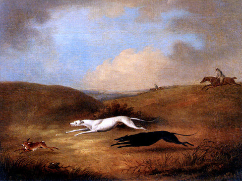 Senior Dean Wolstenholme Robert Poole's Greyhounds, Pigeon And Polecat - Hand Painted Oil Painting