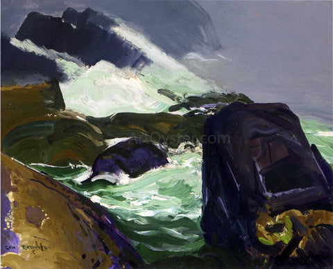 George Wesley Bellows Rock Bound - Hand Painted Oil Painting