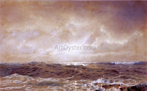 William Trost Richards Rocks and Sea - Hand Painted Oil Painting