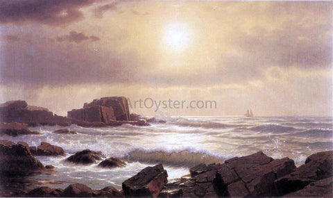 William Stanley Haseltine Rocks at Nahant - Hand Painted Oil Painting