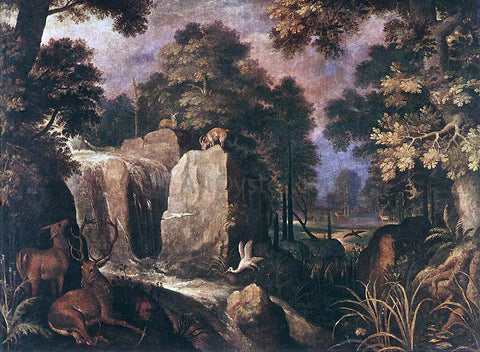 Roelandt Jacobszoon Savery Rocky Landscape - Hand Painted Oil Painting
