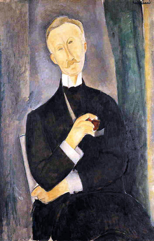 Amedeo Modigliani Roger Dutilleul - Hand Painted Oil Painting