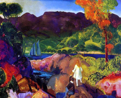 George Wesley Bellows Romance of Autumn - Hand Painted Oil Painting