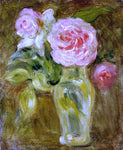 Berthe Morisot Roses - Hand Painted Oil Painting