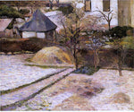 Paul Gauguin Rouen Landscape - Hand Painted Oil Painting