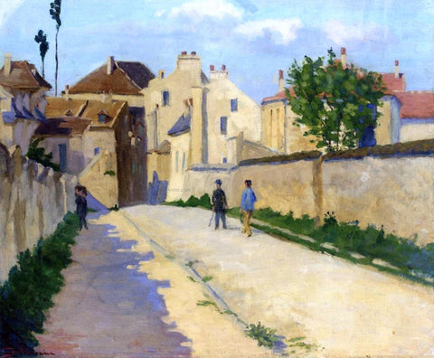 Armand Guillaumin Rue de Clamart at Vanves - Hand Painted Oil Painting