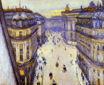 Gustave Caillebotte Rue Halevy, Seen from the Sixth Floor - Hand Painted Oil Painting