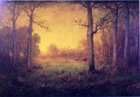 George Inness Rural Landscape - Hand Painted Oil Painting