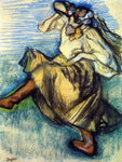 Edgar Degas Russian Dancer - Hand Painted Oil Painting